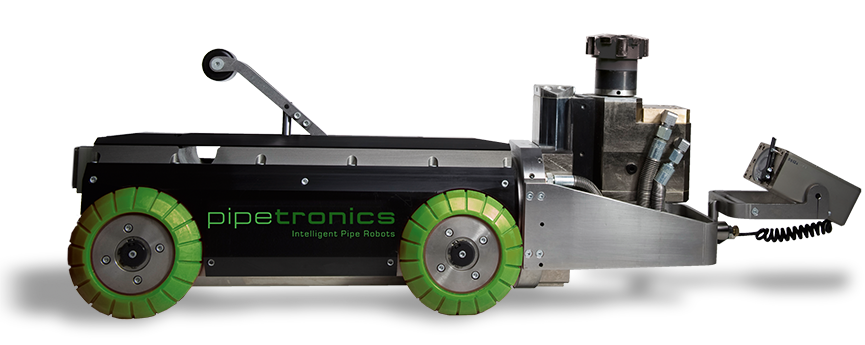 Pipetronics PI.CUTTER - Hydraulic milling robot - high-performance and long-lasting